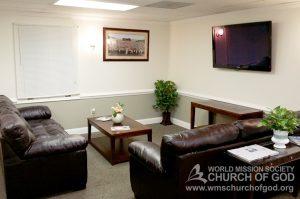 World Mission Society Church of God, Burke, Virginia, VA, WMSCOG, Interior, Lounge Area