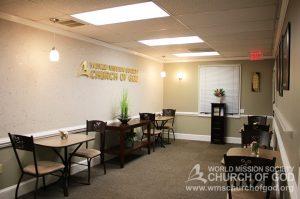 World Mission Society Church of God, Burke, Virginia, VA, WMSCOG, Seating, Fellowship, Interior