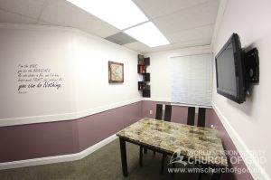 World Mission Society Church of God, Burke, Virginia, VA, WMSCOG, Bible study room, Interior