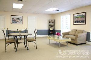 World Mission Society Church of God, Woodbridge, Virginia, VA, WMSCOG, Interior, Fellowship Room