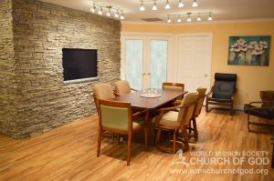 World Mission Society Church of God, Richmond, Virginia, VA, WMSCOG, Interior, Conference Room