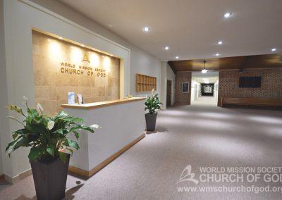 World Mission Society Church of God in Virginia Beach Lobby