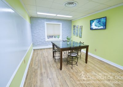 World Mission Society Church of God in Virginia Beach Study Room