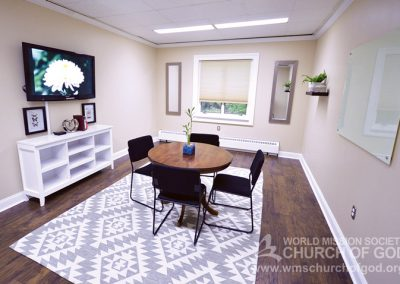 World Mission Society Church of God in Virginia Beach Bible Study Room