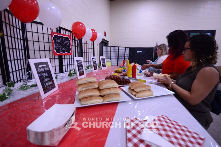World Mission Society Church of God, Newport News, VA, Virginia, National Hot Dog Day, bible study, education, teaching, culture, America, summer, mustard, ketchup