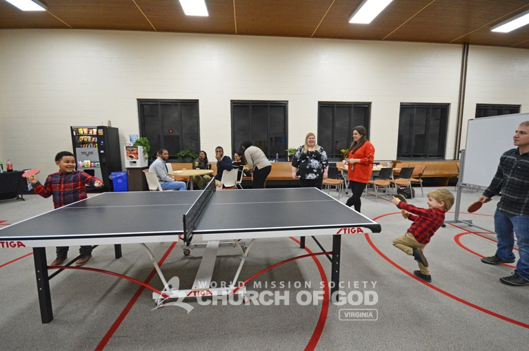world mission society church of god, wmscog, VA, Virginia, Newport News, ping-pong, night, competition, tournament, game, table tennis